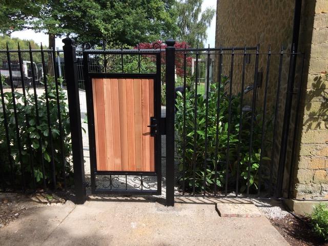 Pedestrian Garden Gates Clima Gate Railing And Fencing Ltd